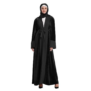 8f88b0457d Amazon.com: Hot New! Muslim Women Robes,Islamic Arab Jilbab Kaftan ...
