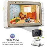 """MoonyBaby Wide Angle 5"""" LCD Video Baby Monitor with..."""