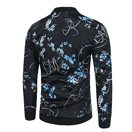 casual hombres e chaqueta chaqueta invierno Chaqueta moda Chaqueta XL código Hombres otoño europeo U5wxqYO