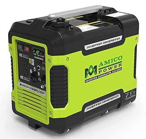 Amico Power 2000 Watt 2KW Portable Inverter Generator Mobile New CARB Compliant (Portable 2000w Generator)