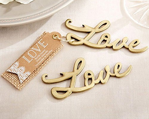 Love Antique Gold Bottle Opener - Total items 96