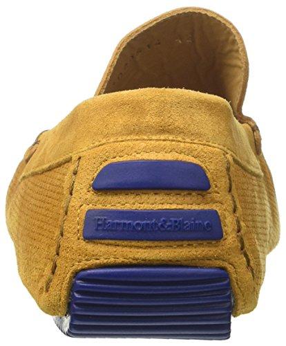 Harmont & Blaine Mocassino, Sneaker Infilare Uomo Giallo (Ocra)