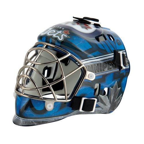 fan products of Franklin Sports NHL League Logo Winnepeg Jets Mini Goalie Mask