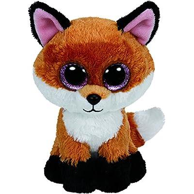Ty Beanie Boos Slick The Brown Fox Plush