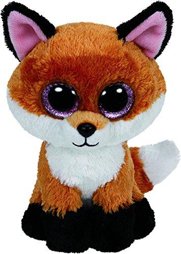 Ty Beanie Boos Slick The Brown Fox Medium (Beanie Boo Medium Fox)