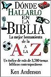 Donde Hallarlo en la Biblia de la a A la Z, Ken Anderson, 0899223885