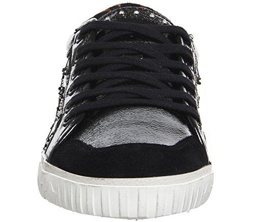 Femme Ash Bis Footwear Majestic Chaussures Ash Baskets Noir cSArvcF
