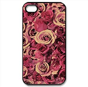 Spirals Of Love Watercolor style Cover iPhone 4 and 4S Case (Flowers Watercolor style Cover iPhone 4 and 4S Case)