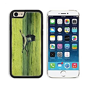 Heron Flying Bird Nature Animal 3DCom iPhone 6 Cover Premium Aluminium Design TPU Case Open Ports Customized Made to Order