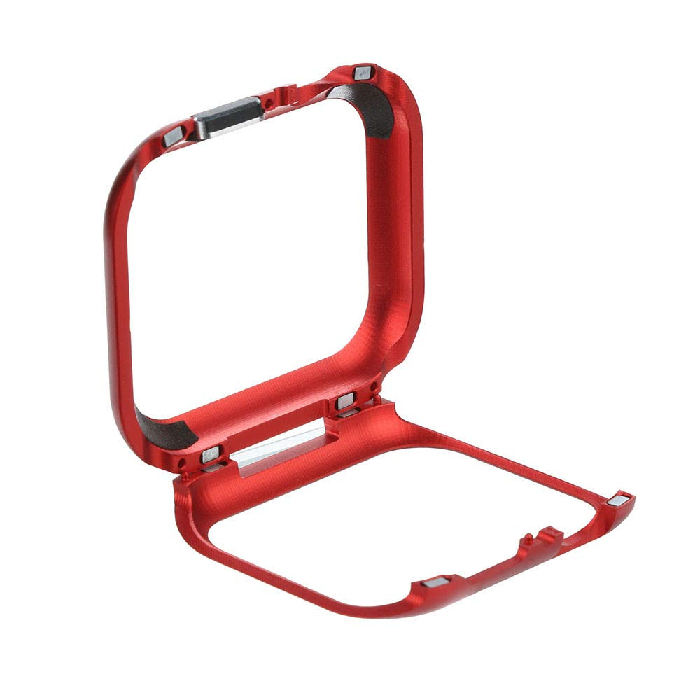 ABASSKY Magnetic Frame Watch Case Protective Cover for Apple Watch Series 4 44mm (Red) by ABASSKY (Image #4)