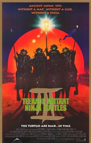 Amazon.com: Teenage Mutant Ninja Turtles 3 Movie Poster (11 ...
