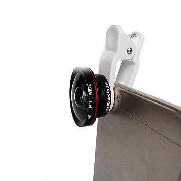 YANRR Teléfono móvil 4K HD Libre de distorsión Gran Angular Macro Dos en la Misma cámara al Aire Libre Tiro, Disparador artefacto de la Lente: Amazon.es: ...
