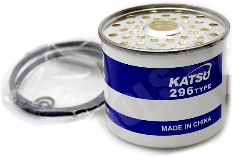 KATSU Tools SP48273001 Filtereinsatz f/ür Kraftstoff Benzin Filter Wasserabscheider