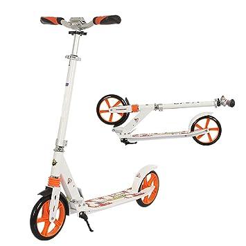 Scooter para Adultos Plegable de 3 Niveles de Altura ...