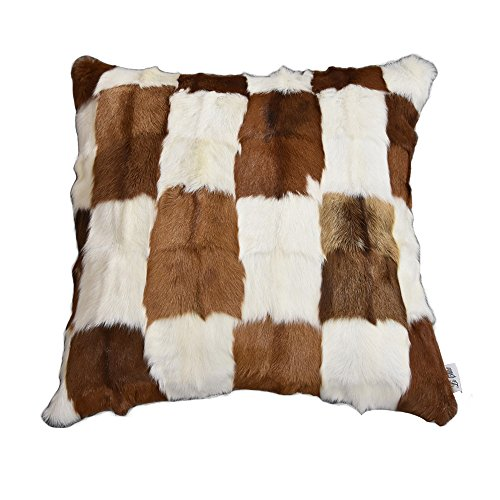 Real Ombre Mongolian lamb fur Rug Soft Plush Curly Sheep Skin Carpet Luxurious Home Decorative Foot...