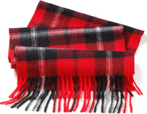 Pure Cashmere Scarf Woven in Scotland