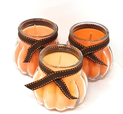 Partylite Fall Autumn Joy of Autumn Candle Trio -