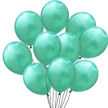 MTCTK 10 Piezas Globos Verdes Decoraciones para Fiestas De ...