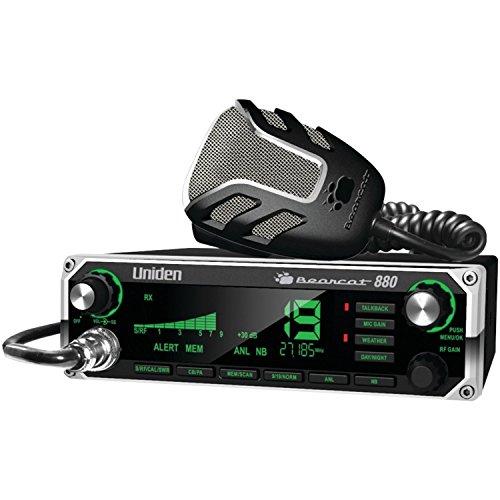 Cb Radio For Car, Uniden Bearcat 880 7-color Display Truck Vehicle Car Radio Cb