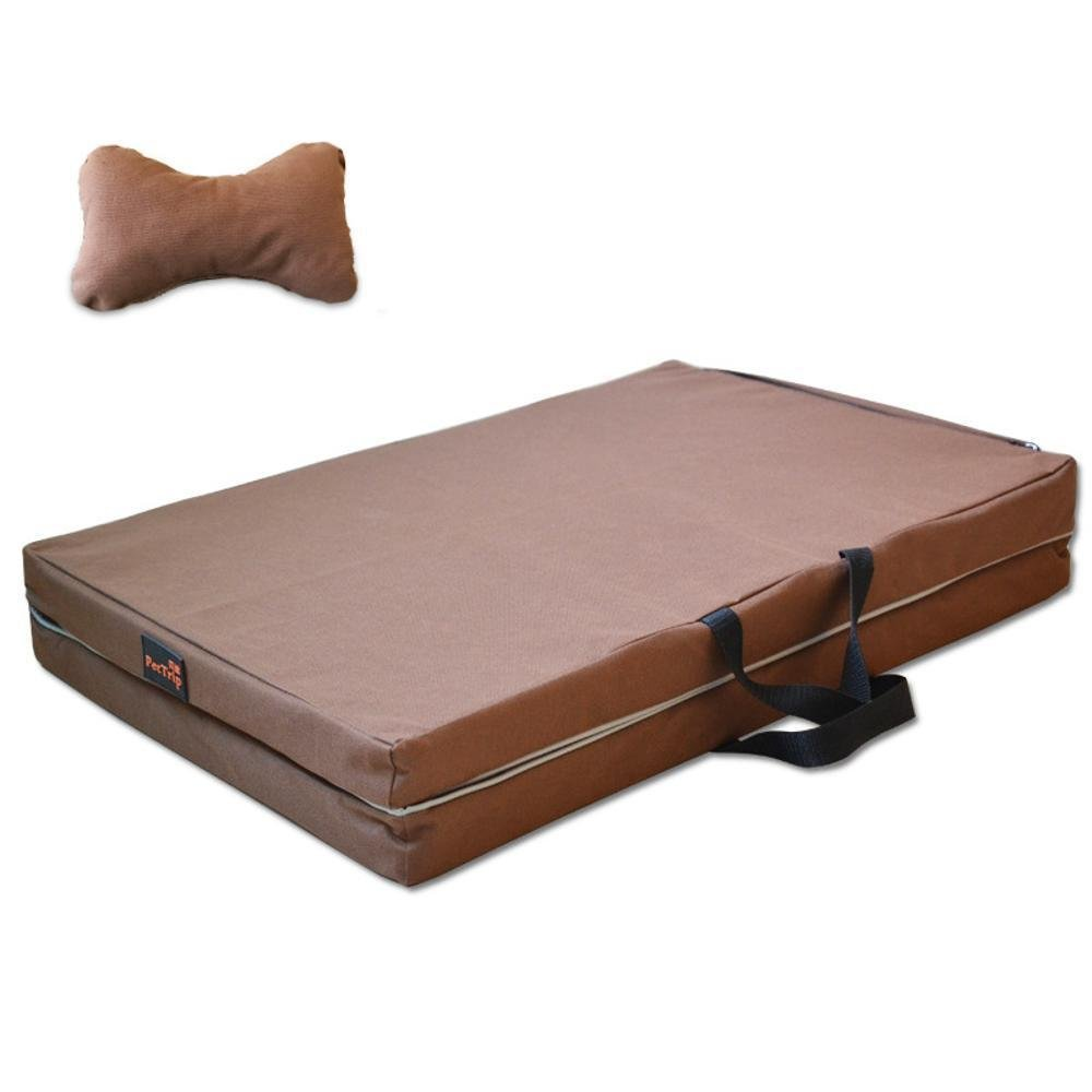 Kennel Pads Dog Beds Pet Bed for Pet Kennel Winter Thickened Dog Bed Removable and Washable Cat Bed Pet Supplies Cover