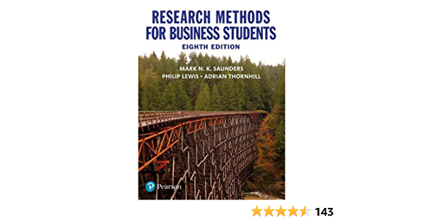 Research Methods For Business Students Adrian Thornhill Philip Lewis Mark N K Saunders 9781292208787 Amazon Com Books