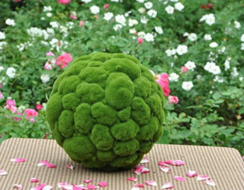 Tree Ball Moss (Artificial Moss Grass ball Faux Topiary Ball house garden hotel decor 3.9