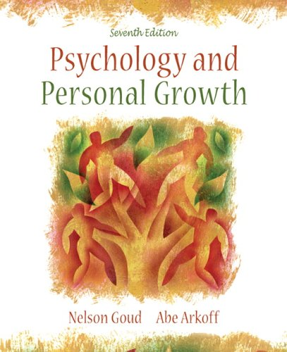 Psychology and Personal Growth (7th Edition)