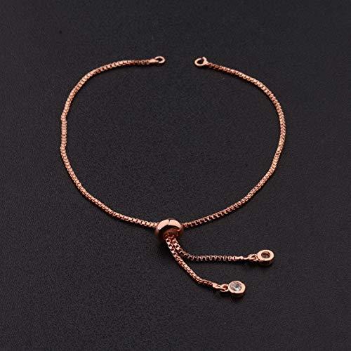 Gatton Colorful CZ Zircon Bracelet Evil Eye Beads Charm Bracelet Braiding Jewelry | Model BRCLT - 42350 |