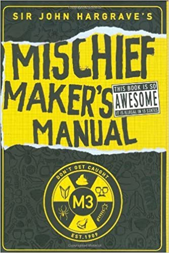 Buy sir john hargrave's mischief maker's manual book online at low.
