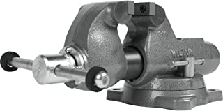 """product image for Machinist 3"""" Jaw Round Channel Vise with Swivel Base, 28830"""