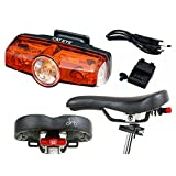 Brompton CatEye Rapid Mini USB Rechargeable Rear Lights for Late 2016/2017