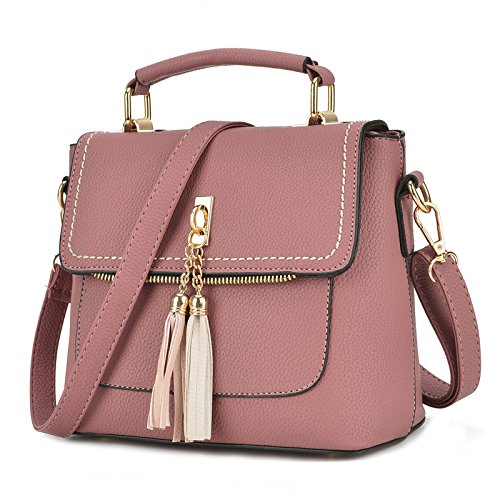 Meat All Pink Korean Meoaeo Western match Women Pink Messenger Bag Style Flesh Pn7qZ