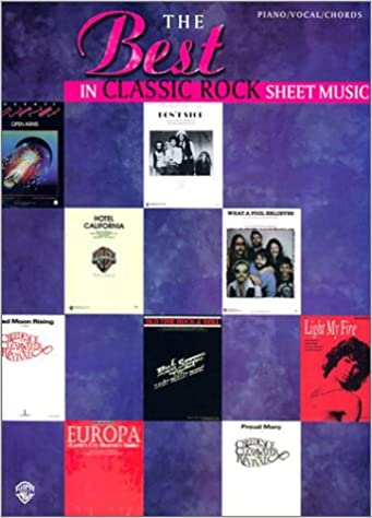 The Best In Classic Rock Sheet Music Pianovocalchords Alfred