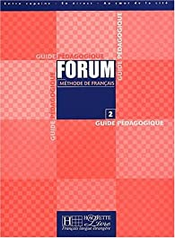 Forum 2: Guide Pedagique par Julio Murillo Puyal