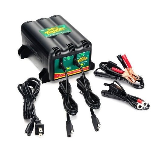 (Deltran Battery Tender Plus 12V 2 Bank Battery Charger System 2-Bank 021-0165)
