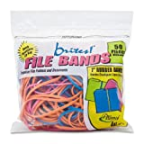 ALL07800 - Alliance Rubber Brites! Pic-Pac Rubber Bands