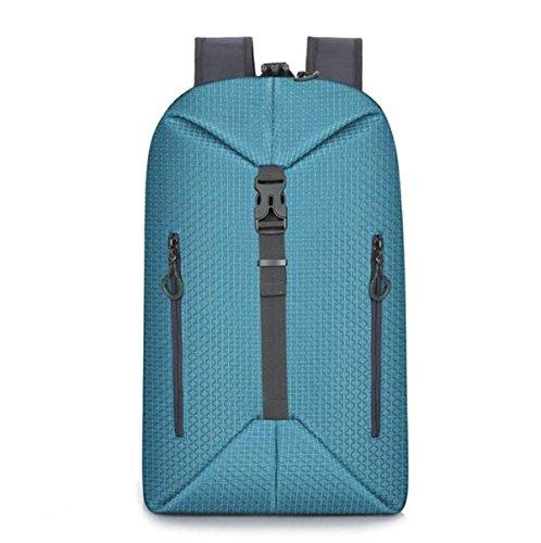 Mochila Personalizada Deformación Deportes Anti-robo Paquete De Ocio Al Aire Libre Bolsa De Viaje Bolso Blue1