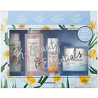 Mamonde Floral Energy Discovery Skincare Set | Cleanser | Toner | Serum | Cream
