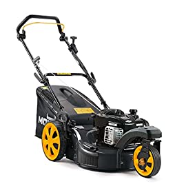MOWOX MNA152613 Lawn Mower 53 Innovative zero turn radius front caster design Single lever 6 stage Height adjustment 3 in 1 discharge, bag included