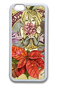 iPhone 6/6S Case,White,TPU(Soft plastic)Case For iPhone 6/6(be customized)Ultra Slim Case,Latest style Case[4.7 In]Ultra-thin Case Easy To Operate-Hatsune Miku 52