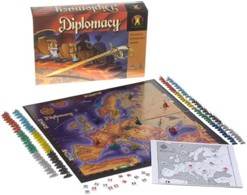 Diplomacy Board Game by Avalon Hill: Amazon.es: Juguetes y juegos