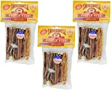 Cheap (3 Pack) Smoke House Beef Pizzle Treat for Dogs, 4-Inch – 18 Pizzle Sticks Total