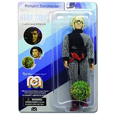 Star Trek Limited Edition Romulan Commander by Mego: Toys & Games