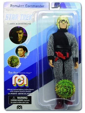 Mego Star - Star Trek Limited Edition Romulan Commander by Mego