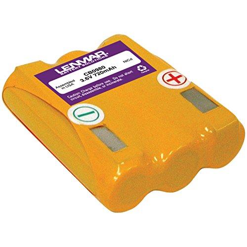 Lenmar Replacement Battery for Cidco CL-940 CL-980 CL-990 CL-991 CL-992 D93X BellSouth D-271 SBC 368B Verizon E9010 Replaces OEM Cidco 102794-01 104212-01 60AAS3BV1Z 60AAS3BZ 85AAS3BV1Z D-AA850X3 Sanyo 3KR-600AAL SBC CYB-102  Verizon (990 Cordless Phone Battery)