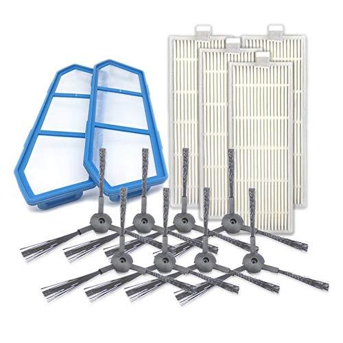 para ILIFE V7S Kits de Robot Aspirador Accesorio Cepillo Lateral ...