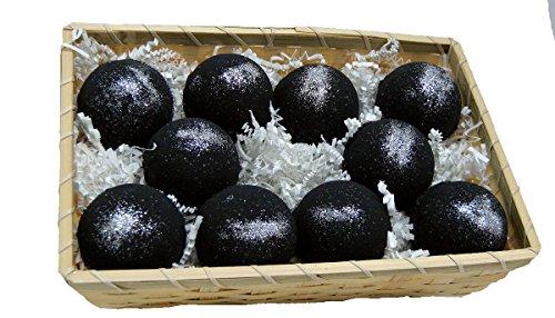 Basket of Bombs! 10 pcs. Black Bath Bombs 5.7 oz Aloe Ver...