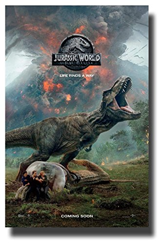 bribase shop Jurassic World 2 Fallen Kingdom Poster Movie Pr