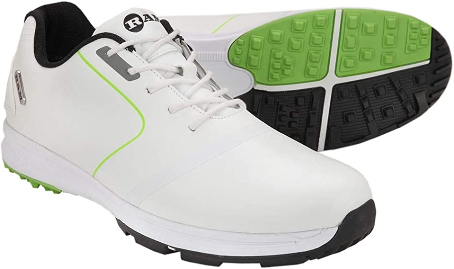 Ram Golf Player Mens Waterproof Golf Shoes
