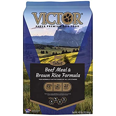 Victor Select – Beef Meal & Brown Rice Formula,...
